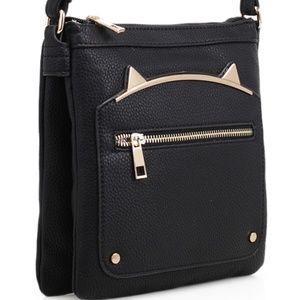 Fashion Cross Body Bag (87743-BLACK)